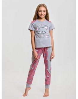 "Пижама ""ПД-24"" мышка, трикотаж"