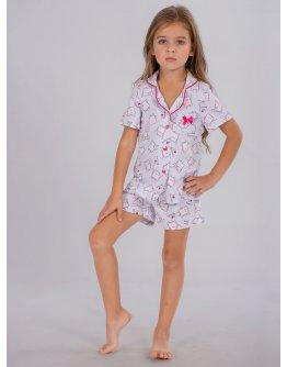 "Пижама ""ПД-67"" печенки шорты, трикотаж"