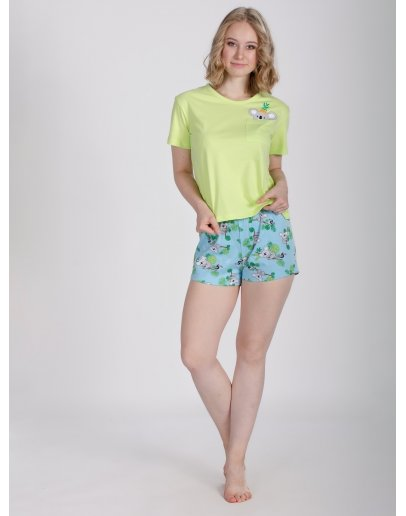 """Пижама """"Коала 2"""" шорты, трикотаж"""