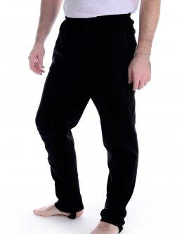 Трико со штрипками, черный, интерлок