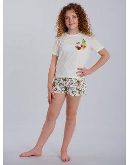 "Пижама ""ПД-52"" кокосы, трикотаж"