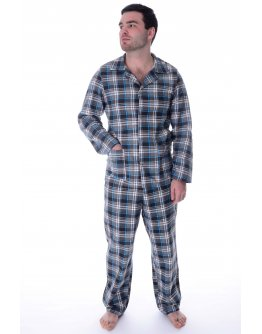 Пижама мужская, фланель